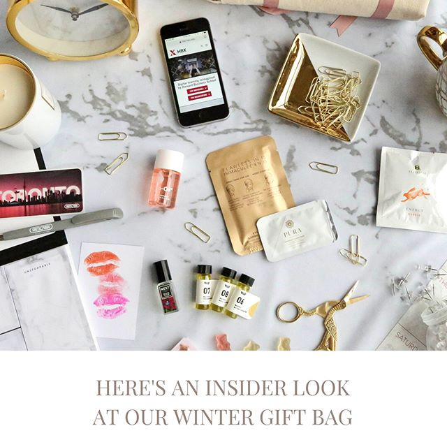Our gift bags are a must-have. This issue's gift bag was packed with #bossbabeessentials from beauty to stationary. Bonus: most of our sponsors were Canadian and/or women-owned! 🛍 Special thanks to our gift bag sponsors for making this possible. Read more about the products inside in page 12 of the magazine or on our blog, curatedlife.ca/blog 🛍 @shopwayofwill  @flawlessbyfriday  @purabotanicals  @biooilcanada  @harvardhbx  @lilahbeauty  @biooilcanada  @nestfragrances  @tealeavesco  @squishcandy  @rimowa  @weworkcanada  @bumblebizz  And a special thanks to @theworking.millennial for her amazing #unboxing video 🙌🏽 ✨ #Toronto #girlboss #bossbabe #torontoevents #torontopr  #empoweringwomen #empowerwomen #empoweredlifestyle #indiemag #cdnmag #mycuratedlife #curated #womenempowerment #womensentrepreneurshipday #wed2017 #empowerwomen #womensentrepreneurship # #womensupportingwomen #popupshop #popup #shoplocal #supportsmallbusiness #supportyourgirlgang #supportyourlocalgirlgang #shoplocaltoronto #yourblueprinttosuccess #giftbag