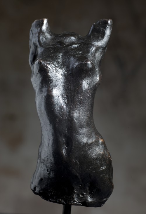 """Chiara,"" 2000, bronze, 15x7x7 in."