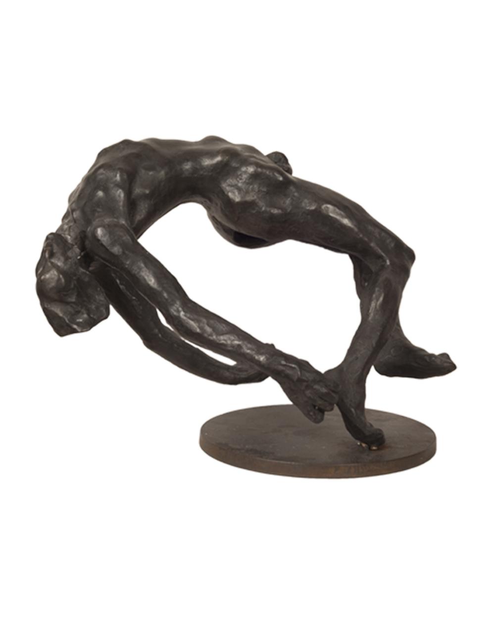 """""""Caduta 1 (Fall),"""" 2004, bronze, 27x31x21 in."""