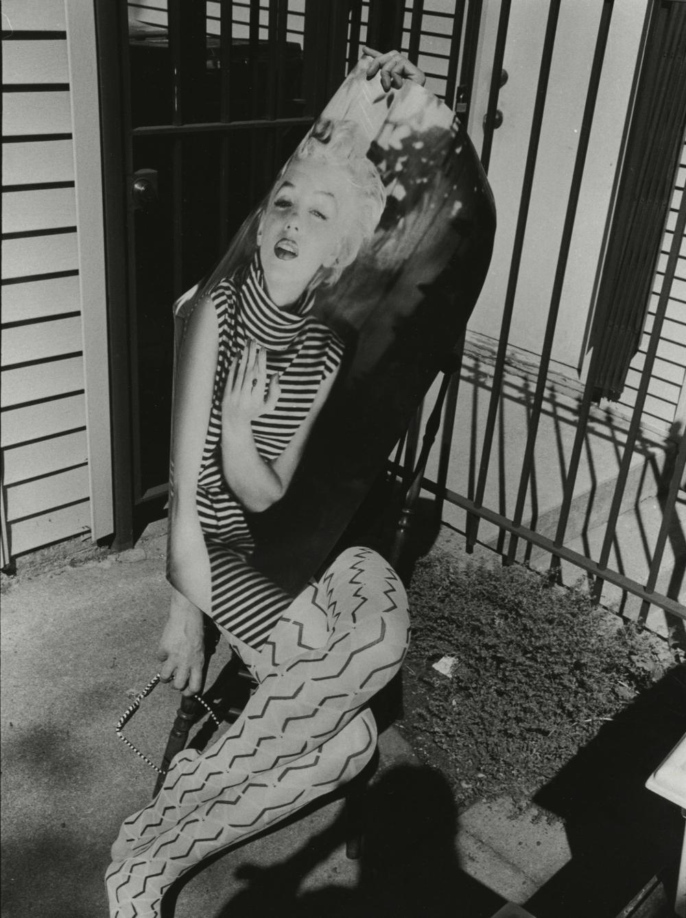 """Marilyn,"" 2009, gelatin silver photograph, 17.5x11.75 in."