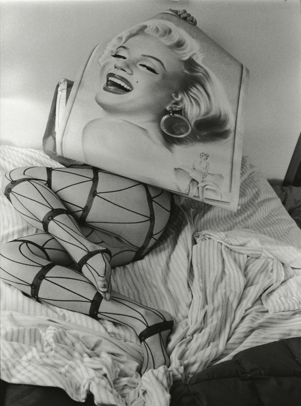 """Marilyn, Chicago,"" 2009, gelatin silver photograph. 17.5x11.75 in."