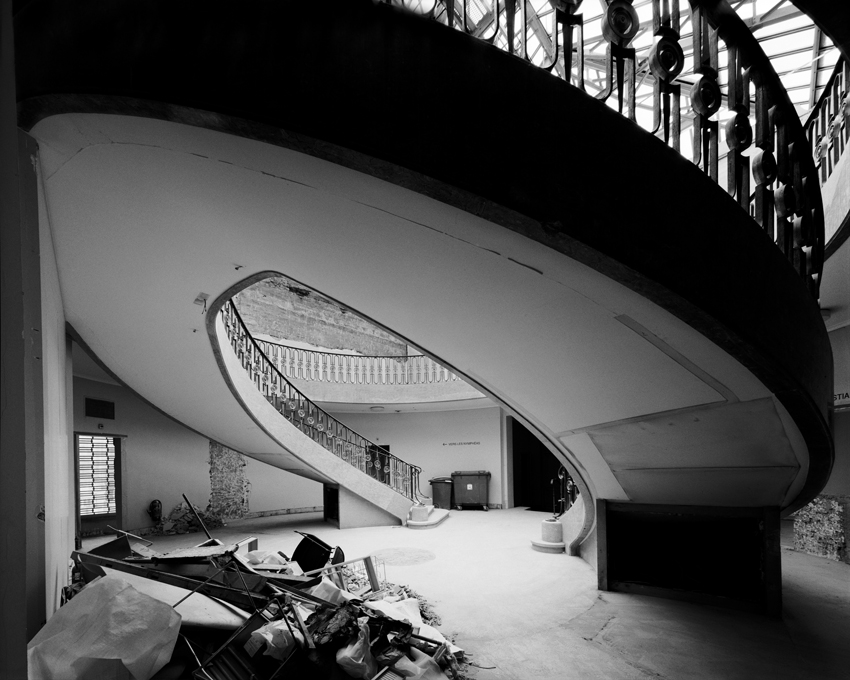 """Old Staircase, Orangerie,"" 2001, photograph, 32x40 in."