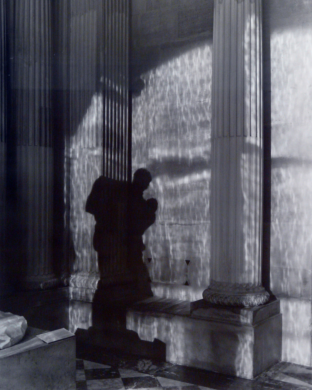 """Le Louvre Transfigure,"" 2002, photograph, 20x24 in."