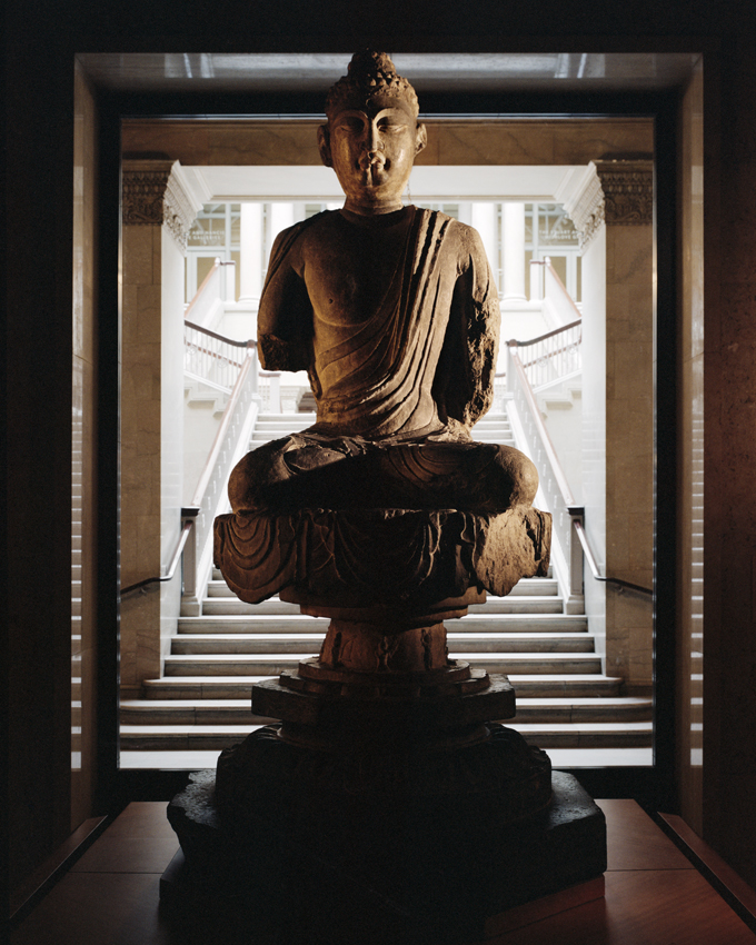 """The Art Institute of Chicago, Buddha,"" 2009, photograph, 20x24 in."