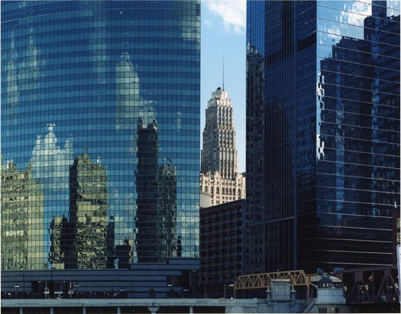 """West Wacker Drive,"" 2006, photograph, 32x40 in."