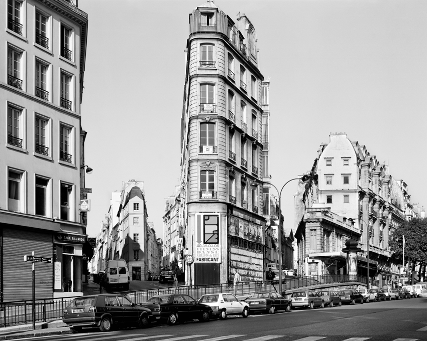 """Rue de Clery, Porte Saint-Denis,"" 1993, photograph, 32x40 in."