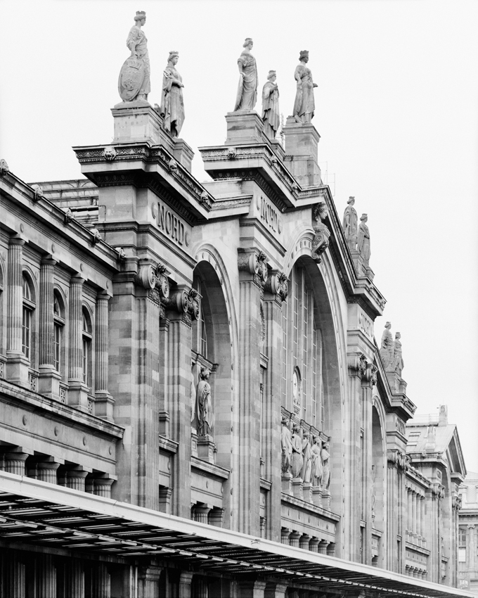 """Gare Du Nord,"" 1995, photograph, 32x40 in."
