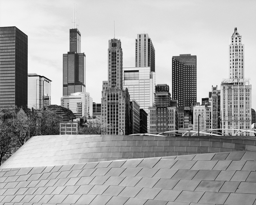 """BP Bridge, Millenium Park,"" 2006, photograph, 40x50 in."