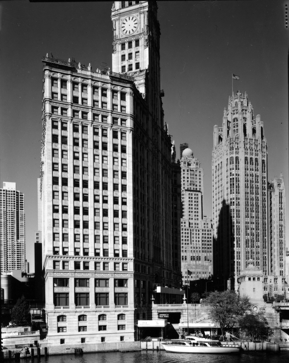 """Wrigley Building,"" 2006, photograph, 20x24 in."