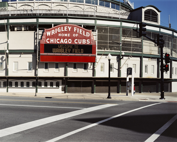 """Wrigley Field,"" 2006, photograph, 20x24 in."