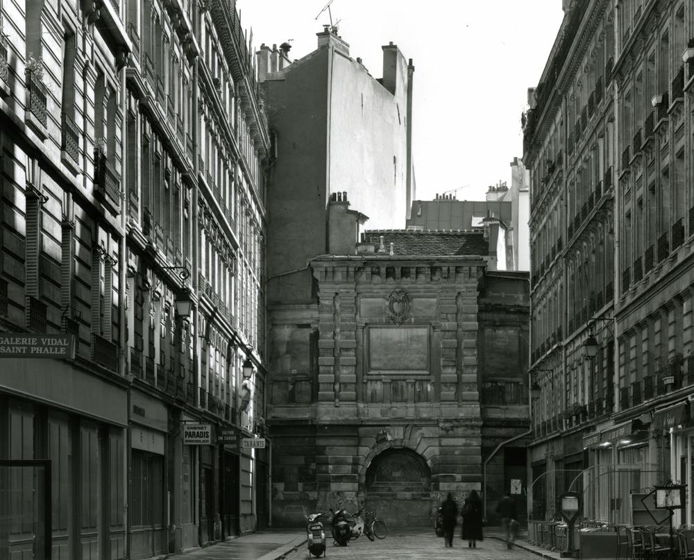 """Marais, Rue du Tresor,"" 2003, photograph, 20x24 in."