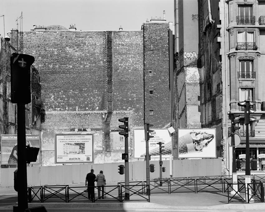 """Avenue de Verdun, Gare de l'Est,"" 2003, photograph, 20x24 in."