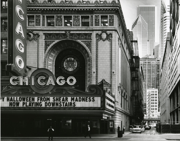 """Chicago Theater, State Street,"" 2006, photograph, 20x24 in."