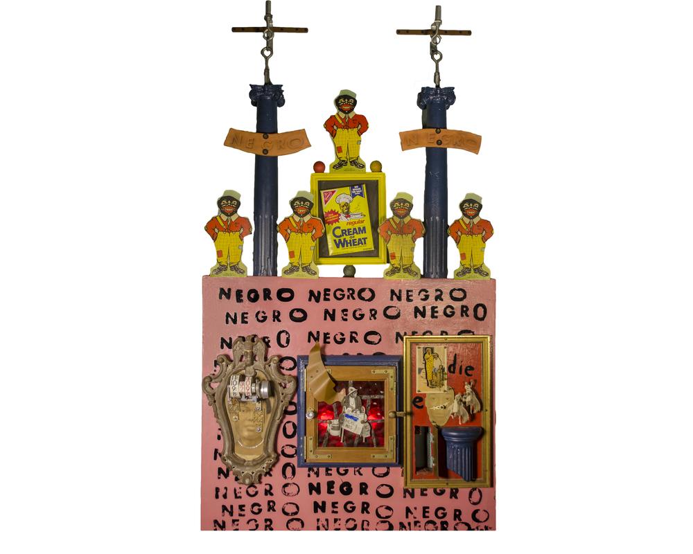1991 Negro Clock