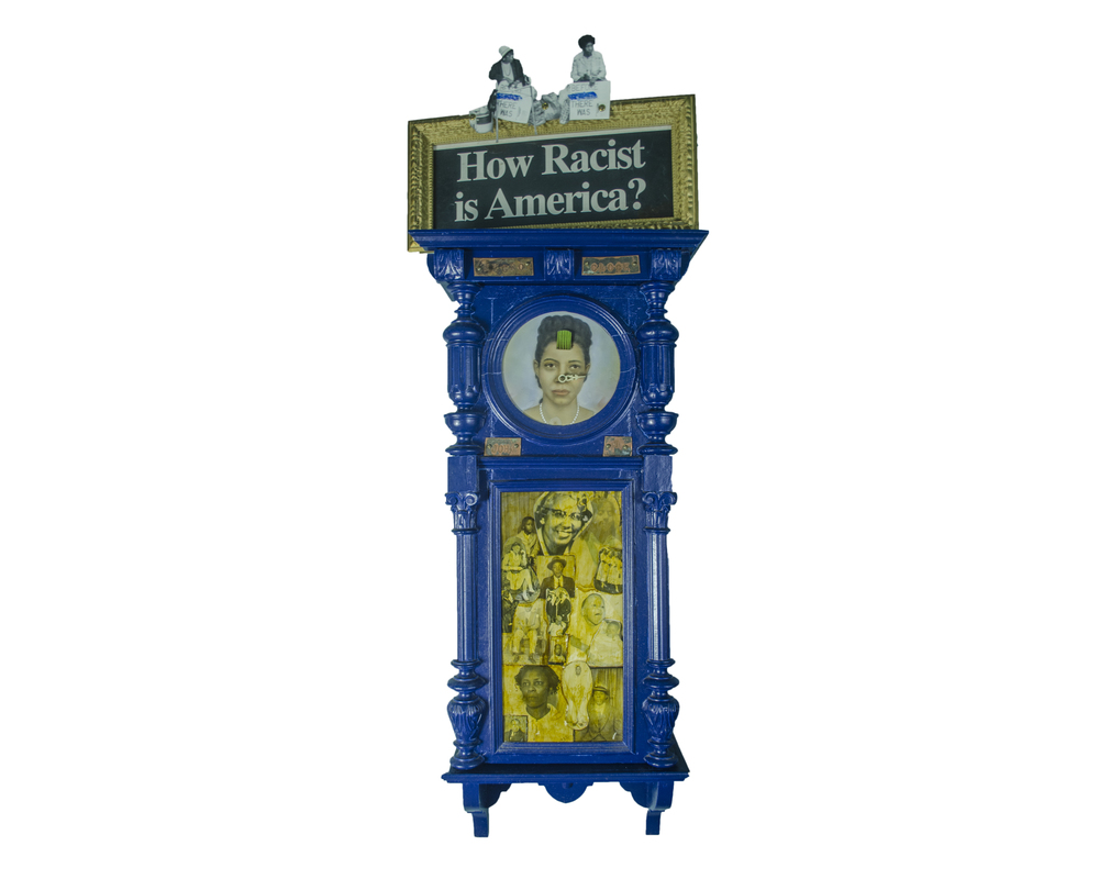 1997 Negro Clock