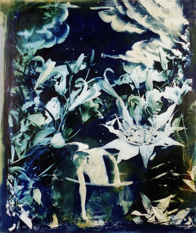"""Stargazers,"" 1995, c-print, 21.5x17.7 in."