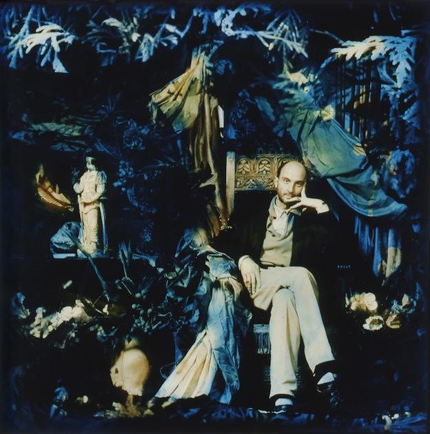 """The Curator,"" 1995, c-print,19x18 in."