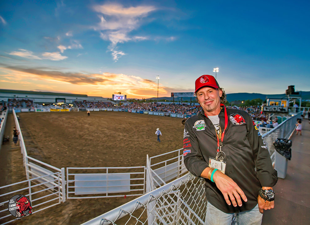 Bill White at the Oakley Rodeo