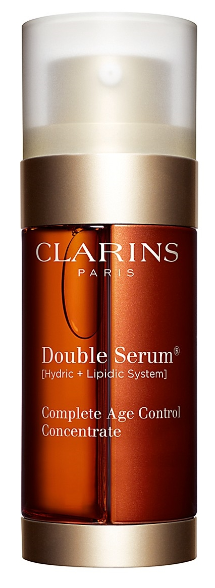 Clarin's Double Serum available at Sephora in two sizes.