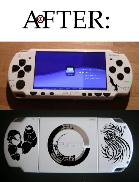 Tech Wreck Custom PSP After
