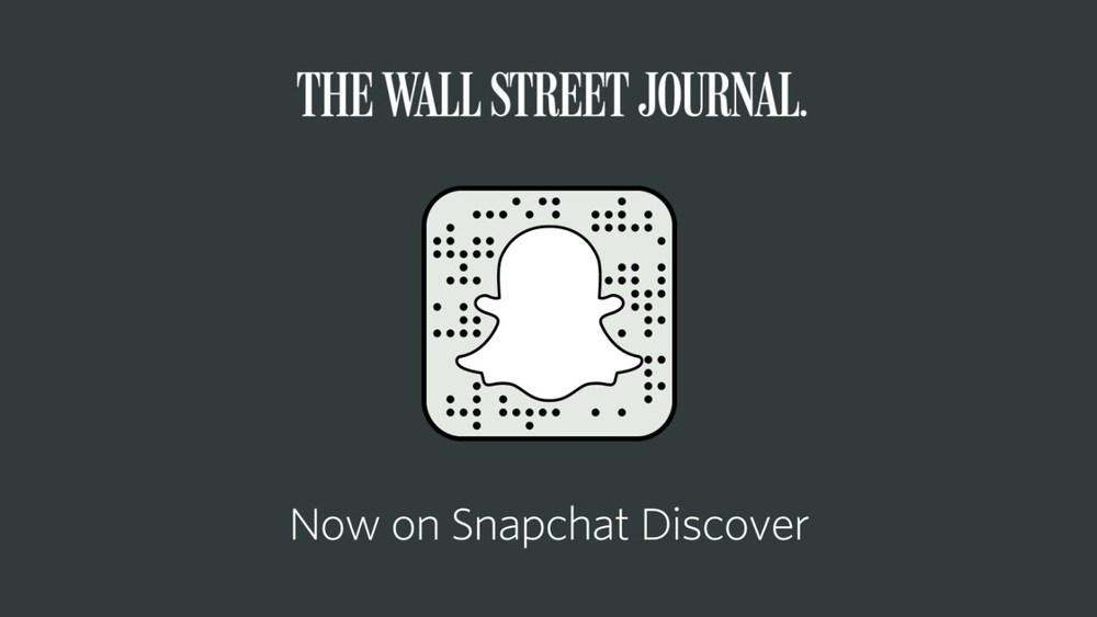 The Wall Street Journal now uses SnapChat. Image from Niemanlab.com from YouTube.com.