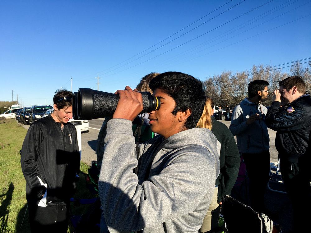 Sriram Looks at the Launchsite