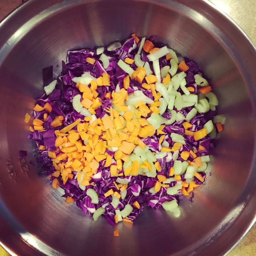 easy cole slaw recipe