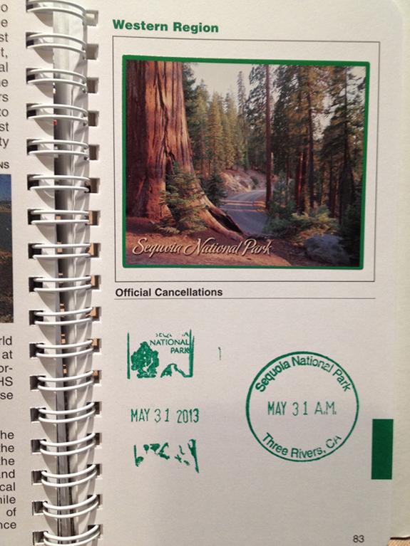 Sequoia National Park - Passport Stamp
