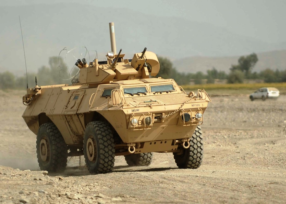 Defense M1117 Armored Security Vehicle