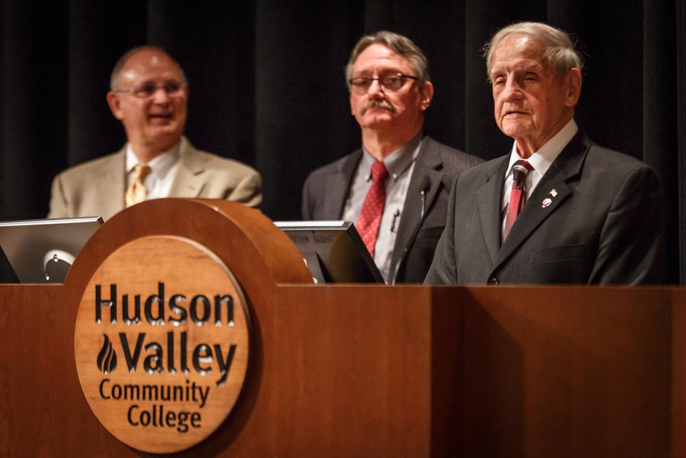Guest Speaker at HVCC's Capstone Ceremony