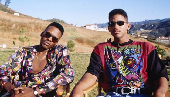 Will Smith and DJ Jazzy Jeff Fashion