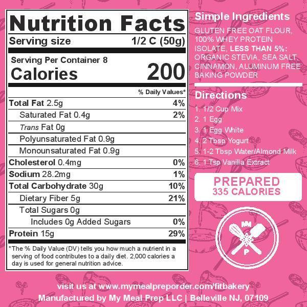 protein pancake nutrition