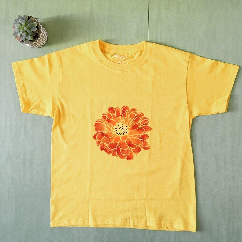 tshirt flower.JPG