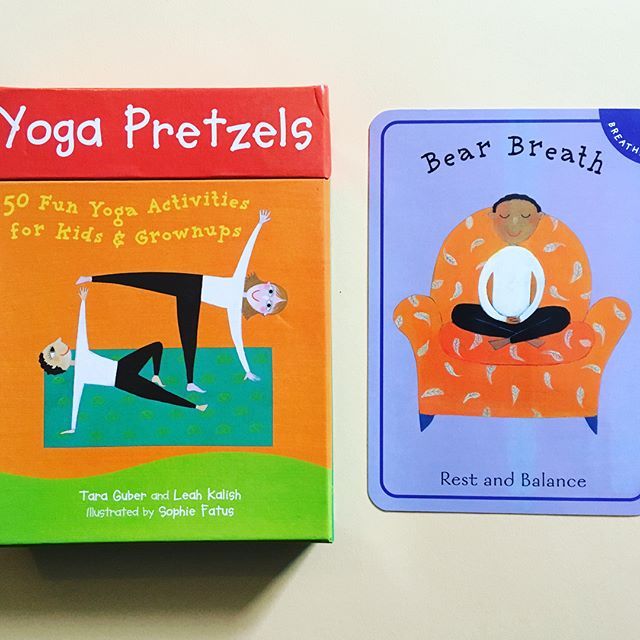 Just got this gem in the mail! 🧘‍♀️🧘‍♂️❤️🧡💛💚💙💜🖤✌️#mondaymARTtra #JUSTBREATHE #yogapretzels #bearbreath #breathe #mindfulness #peace #zen #forkids #foradults #foreveryone #meditation #stressfree #artpiques #theartofzen #yoga #yogi #balance #happymonday