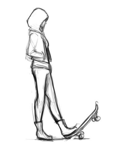 Camilla concept sketch
