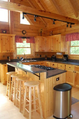 Hemlock Bluff kitchen