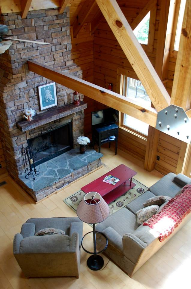 Hemlock Bluff living room