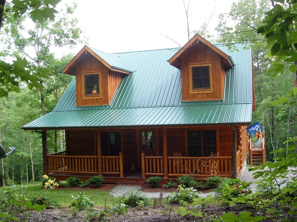 Front of Second Nest cabin