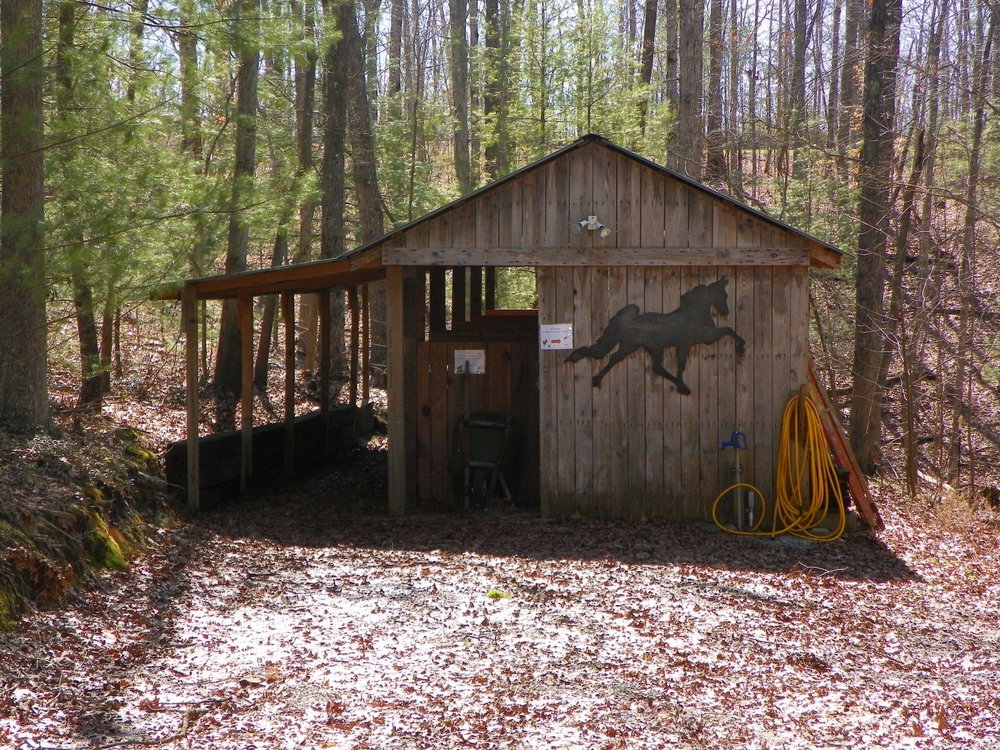 Horse Stall at Laurel Cove Cabin
