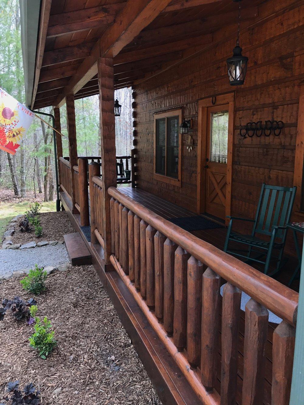 Second Nest front porch