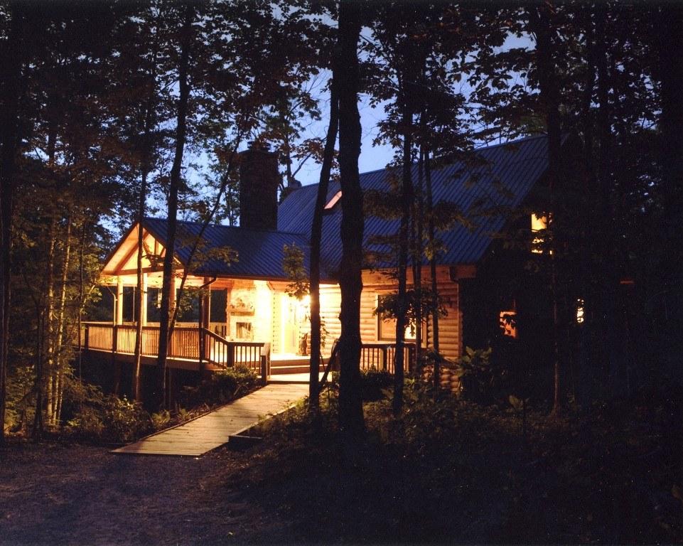 Hemlock Bluff Cabin at Laurel Fork Rustic Retreat