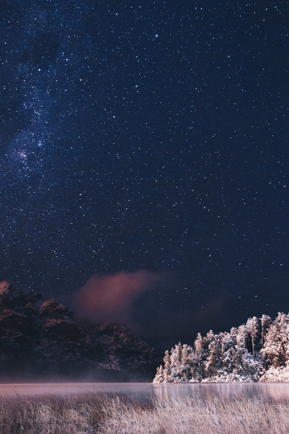 stargazing during the winter