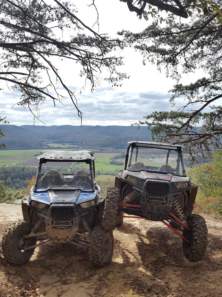 ATV riding near the Big South Fork