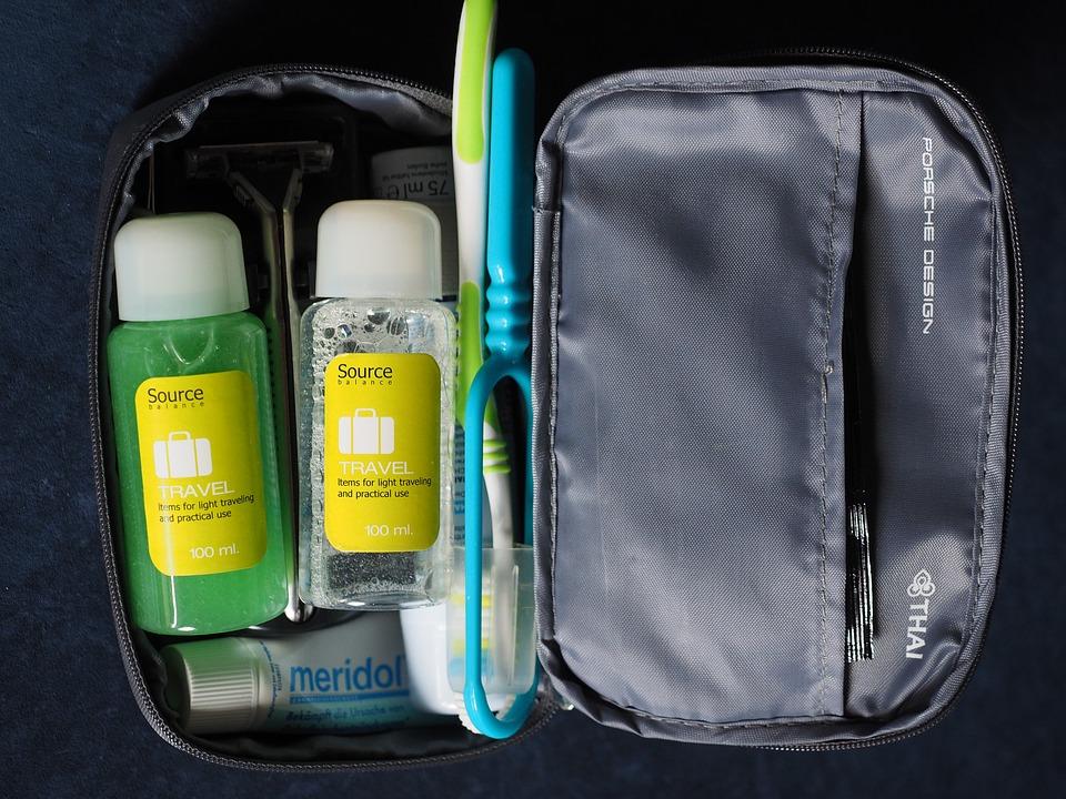 Toiletry bag travel toiletries bag sturdy organizer