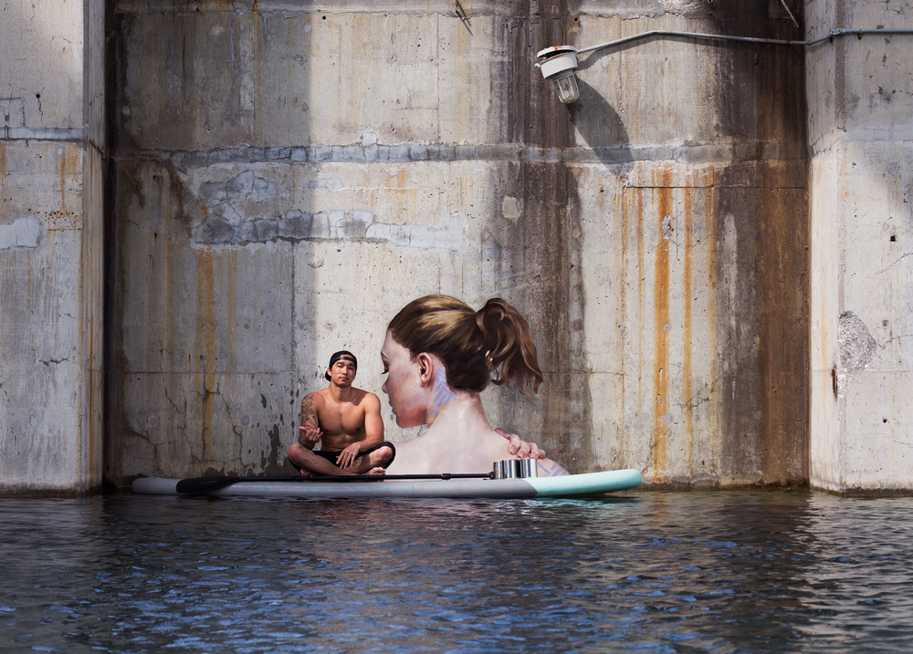 Sean Yoro Hulu Surfboard Painter