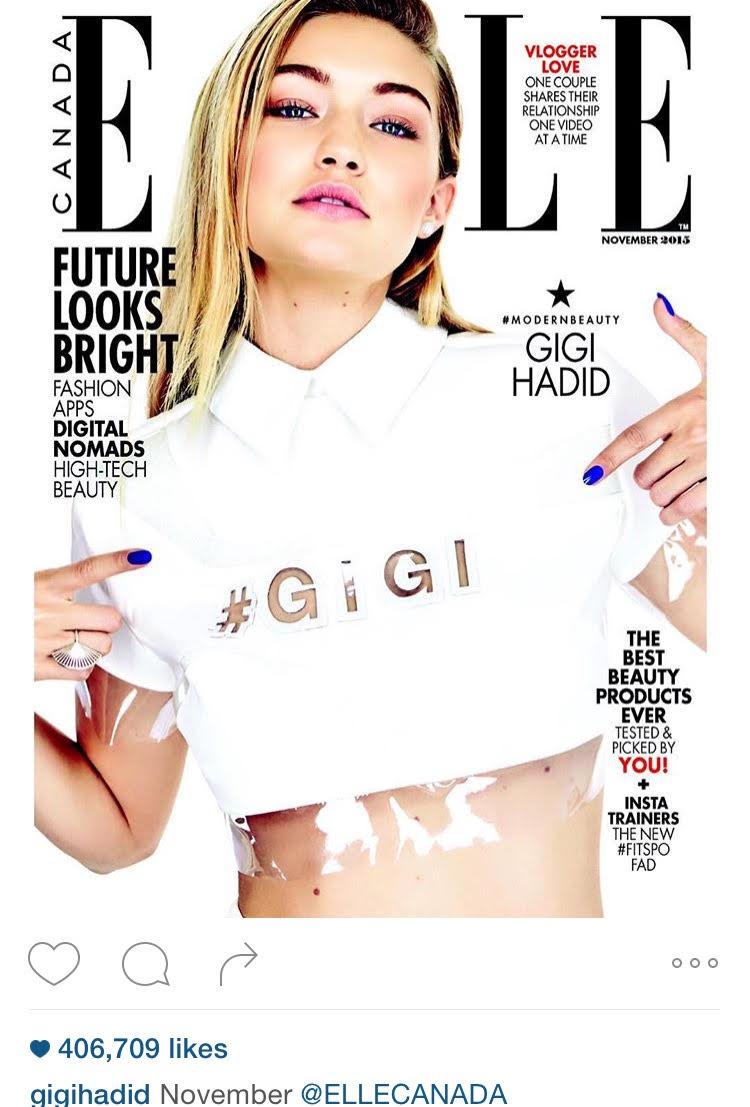 GigiHadidElleMagazine