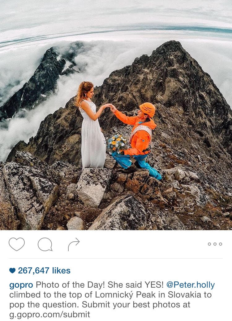 Proposing in Slovakia