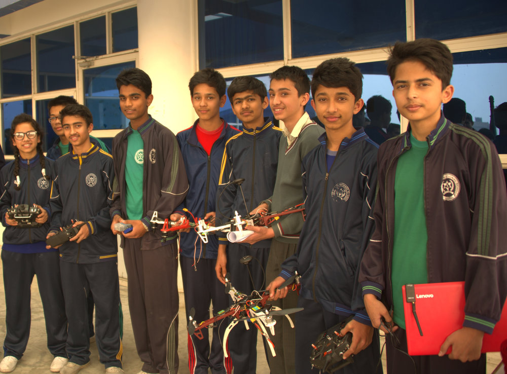 mck nepal 2016 students with drones DSC_6646.jpg