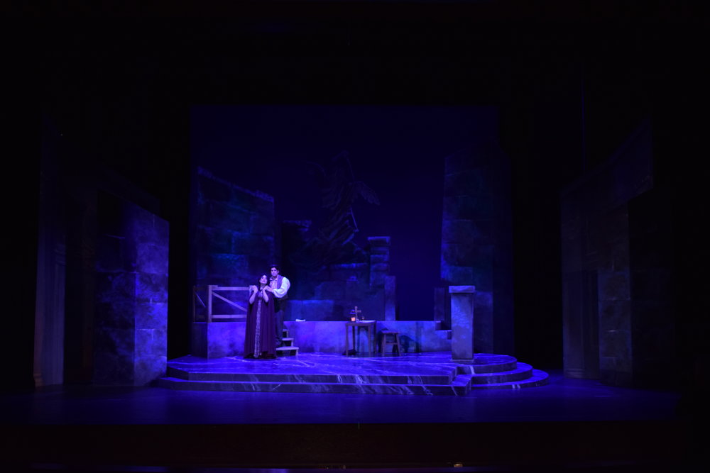 Tosca  at Opera Southwest, Directed by Marco Nisticò. Photo by Lighting Designer Will Coeur.