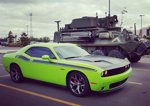 Tank or Challenger? Tough call😎